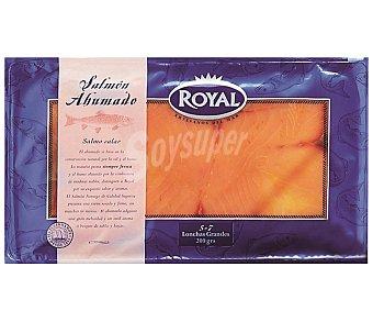 ROYAL Salmón ahumado en lonchas grandes 200 gramos