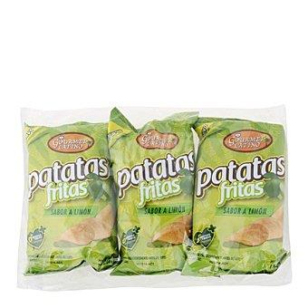 Gourmet Latino Patatas fritas sabor limon Pack de 3x45 g