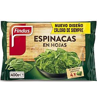 Findus Espinacas hojas 400 G