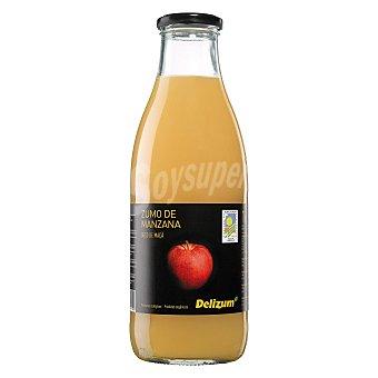 Delizum Zumo de manzana ecologica Botella 1 litro