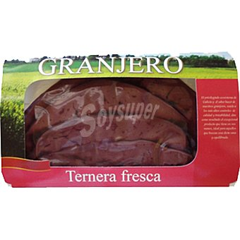 Granjero Ternera gallega hígado peso aproximado Estuche 250 g