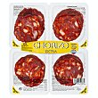 Chorizo suave extra lonchas Paquete pack 4 x 60 g - 240 g Hacendado