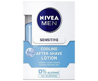 Nivea After shave loción Sensitive Cool sin alcohol Frasco 100 ml