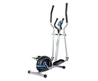 FYTTER Bicicleta eliptica con rueda de inercia de 5 kilos, monitor LCD de 6 funciones y control de resistencia 1 Unidad