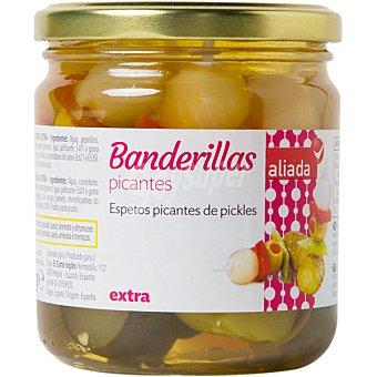 Aliada Banderillas picantes en vinagre Frasco 160 g neto escurrido