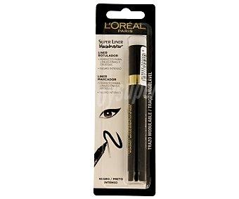 L'Oréal Delineador rotulador de ojos perfecto para líneas finas y gruesas de color negro intenso 1 unidad