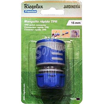 """BM Conector rapido de manguera 1/2"""" color azul"""