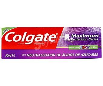 Colgate Dentífrico Maximum protección anti caries para niños 50 ml