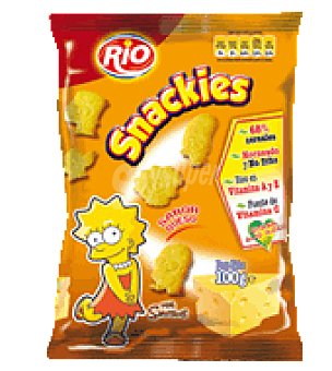 Rio Snakies sabor queso The Simpsons 100 g