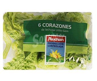 Auchan Producción Controlada Corazones de lechuga 6 unidades