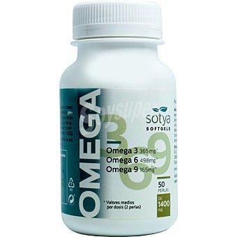 Sotya Omega 3, 6 y 9 para reducir los niveles de colesterol  frasco 50 comprimidos