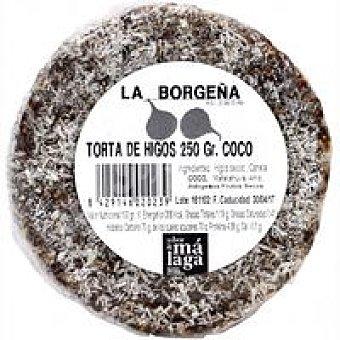 LA BORGEÑA Torta pasta de higos/coco 250 g