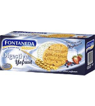 Fontaneda Galletas de frutas del bosque sabor a yogur bañada en chocolate blanco 250 g