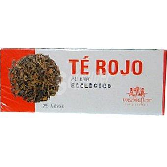 MANSAFLOR Infusión de té rojo ecológico Envase 25 unidades
