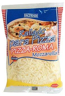 Hacendado Queso rallado hilos pizza (mozzarella) Paquete 200 g