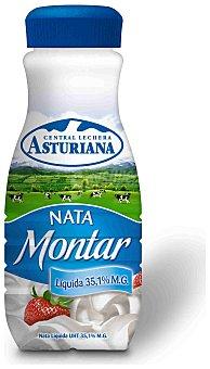 Central Lechera Asturiana Asturiana Nata de Montar Botellín Bote 200 ml