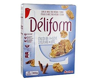 Auchan Cereales integrales con trocitos de chocolate 300 gr