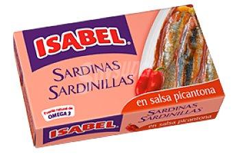 ISABEL Sardinillas en salsa picantona Lata de 57 g