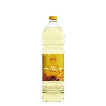 Hacendado Aceite girasol tapon amarillo Botella 1 l