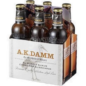 A.K. Damm Cerveza Ak Pack 6x33 cl