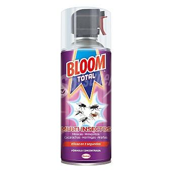 Bloom Insecticida aerosol multinsectos total para moscas, mosquitos, cucarachas y hormigas  Spray 400 ml