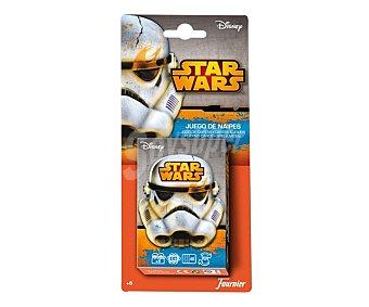 Star Wars Baraja infantil de 40 cartas de La guerra de las galaxias 1 unidad