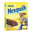 Barritas de cereales con chocolate Paquete 6 u x 25 g  Nesquik Nestlé