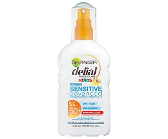 Delial Garnier Niños sens ADV 50+ Spray 200ML