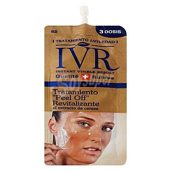 "IVR Tratamiento ""peel off"" revitalizante cereza 3 dosis 15 ml"
