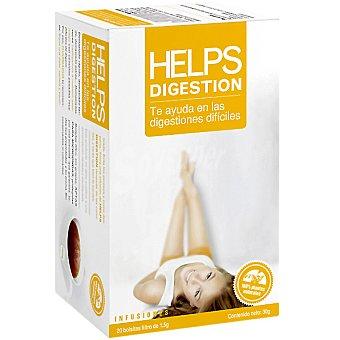 Helps Infusión Digestión te ayuda en las digestiones difíciles Estuche 20 bolsitas