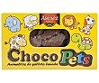 Galletas de animalitos con cobertura de cacao Caja 200 g Asinez