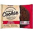 American cookie de proteínas sabor doble chocolate Envase 90 g Weider