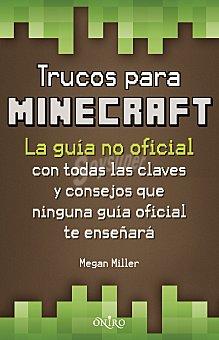 Megan Miller Libro Trucos para Minecraft 1 ud