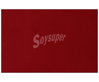 APLI Plancha de foam, goma eva de color rojo y dimensiones 400x600x 2 milímetros 1 unidad