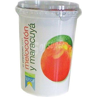 Teisol Yogur con melocotón y maracuyá Envase 500 g
