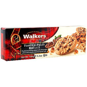 Walkers Galletas Toffee & Pecan Estuche 150 g