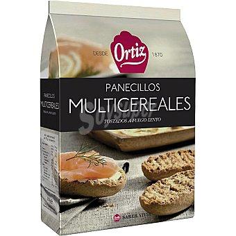 Ortiz Panecillos tostados multicereales Paquete 200 g