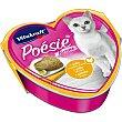 POESIE comida húmeda para gatos adultos con pollo rebozado lata 85 g lata 85 g Vitakraft