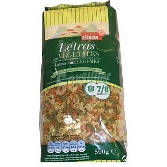 Aliada Letras con vegetales  500 g