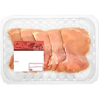 PUJANTE Escalope de pollo Bandeja 600 g peso aprox. (6 unidades)