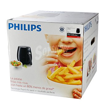 Philips Freidora hd9220/20 negra philips