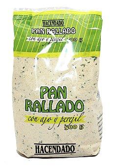 Hacendado Pan rallado ajo perejil Paquete 500 g