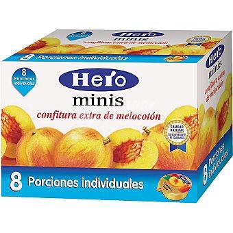 Hero Confitura de melocotón Estuche 8 unds. 25 g