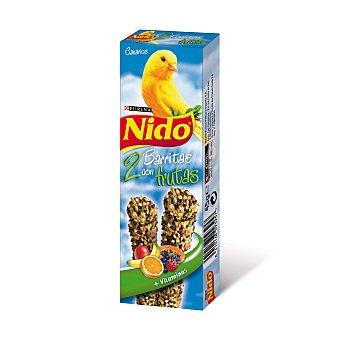 Nido Purina Barritas con frutas para canarios Bolsa 100 g