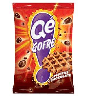 Panrico Qe! Gofre con pepitas de chocolate 75 g