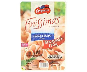 Finissimas Campofrío Jamon cocido extra en lonchas finas envase 170 gr