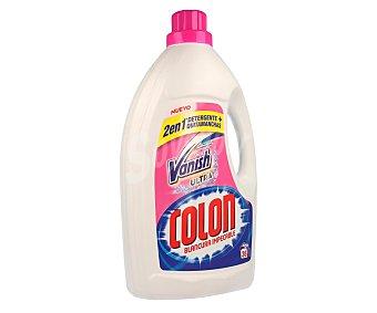 Colón Detergente líquido más quitamanchas para lavadora (ropa blanca y de color) 36 lavados