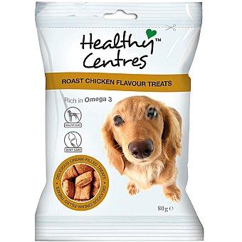 HEALTHY CENTERS Snacks para perro con relleno cremoso sabor a pollo Envase 80 g