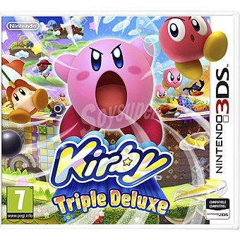 Nintendo Videojuego Kirby: Triple Deluxe para 3DS 1 unidad