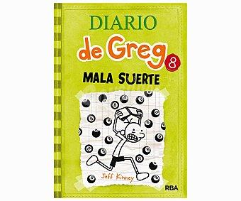 Molino Diario de Greg 8: Mala suerte, jeff kinney. Género: infantil, juvenil. Editorial: Molino